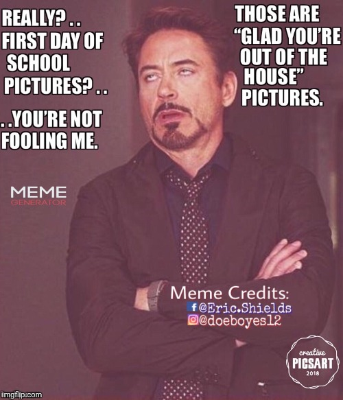 image tagged in school,frown,disgusted,robert downey jr tropic thunder | made w/ Imgflip meme maker