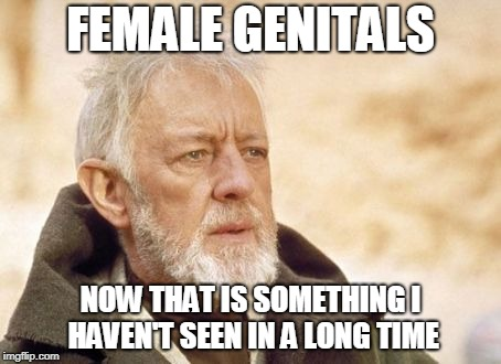 Now that's something I haven't seen in a long time | FEMALE GENITALS NOW THAT IS SOMETHING I HAVEN'T SEEN IN A LONG TIME | image tagged in now that's something i haven't seen in a long time | made w/ Imgflip meme maker