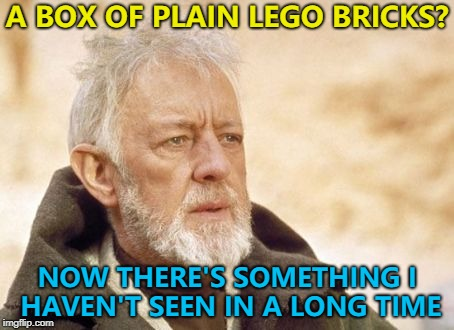 """Real"" Lego - I didn't think you still got it... :) 