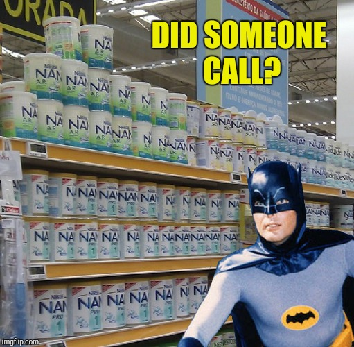 It must be a clue from the Riddler | DID SOMEONE CALL? | image tagged in memes,funny,batman,adam west,na na na na | made w/ Imgflip meme maker
