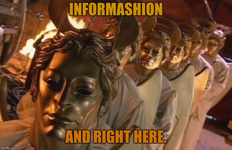 TheHost | INFORMASHION AND RIGHT HERE. | image tagged in thehost | made w/ Imgflip meme maker