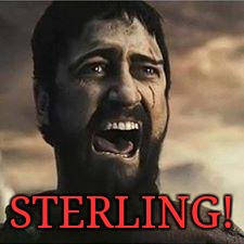 Confused Screaming | STERLING! | image tagged in confused screaming | made w/ Imgflip meme maker