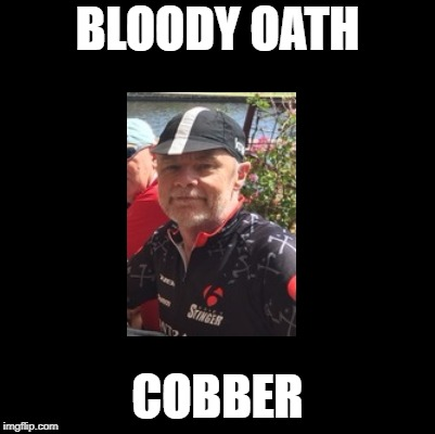 BLOODY OATH COBBER | made w/ Imgflip meme maker