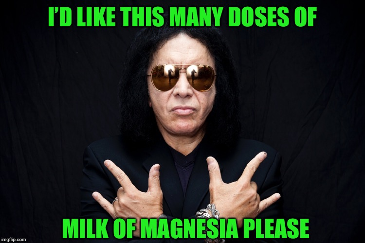 I'D LIKE THIS MANY DOSES OF MILK OF MAGNESIA PLEASE | made w/ Imgflip meme maker