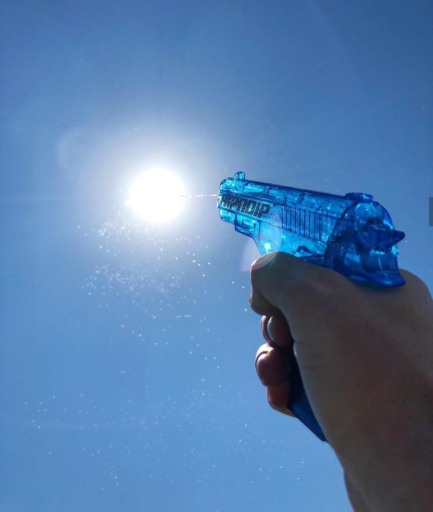 water gun sun Blank Template - Imgflip