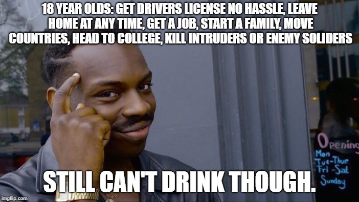 "18 means ""adult"" in American :D 