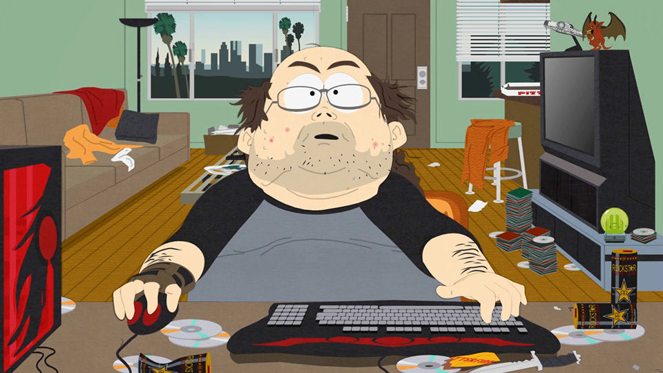 Image result for fat geek computer