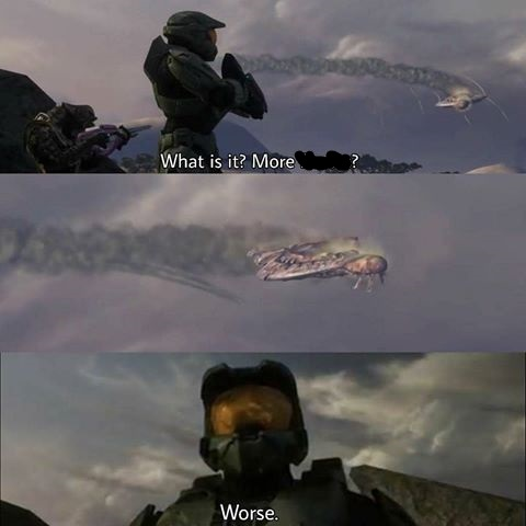 Master Chief Worse Blank Template Imgflip