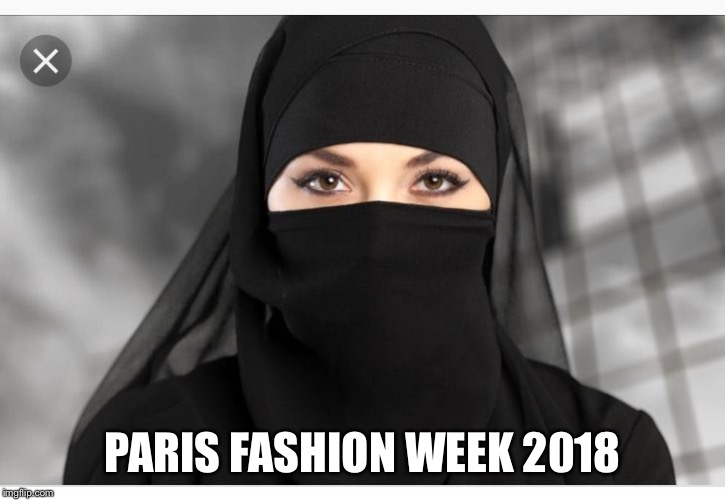 PARIS FASHION WEEK 2018 | image tagged in eyes | made w/ Imgflip meme maker