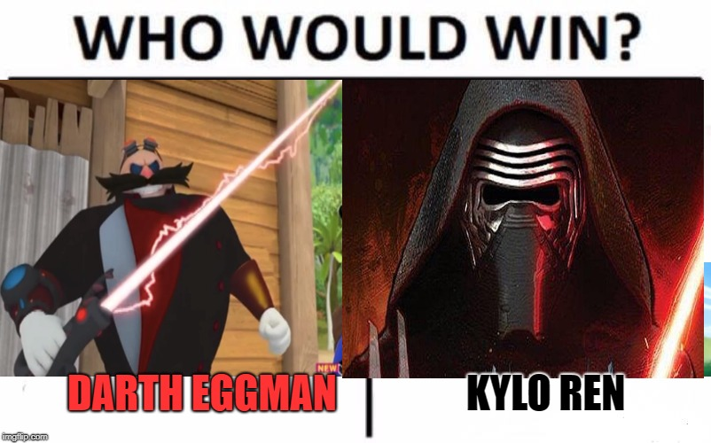 "Still wondering where he got that ""lightsword"" from 