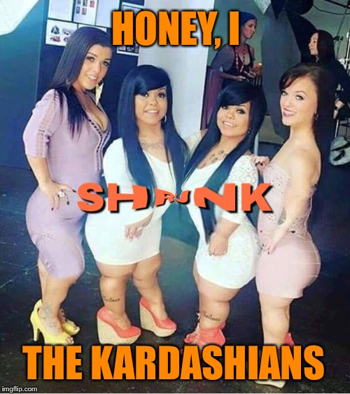 Part of the new fall lineup on E! | HONEY, I THE KARDASHIANS | image tagged in little,kardashians,midgets,reality tv,funny memes | made w/ Imgflip meme maker
