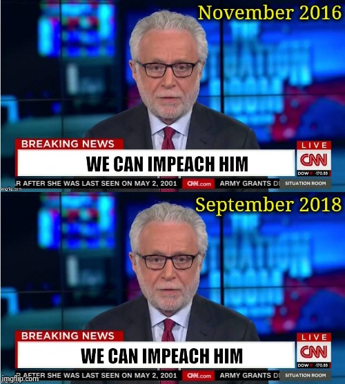 "Say ""Impeach"" one more damn time 