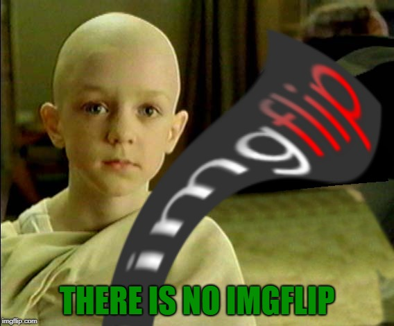THERE IS NO IMGFLIP | made w/ Imgflip meme maker