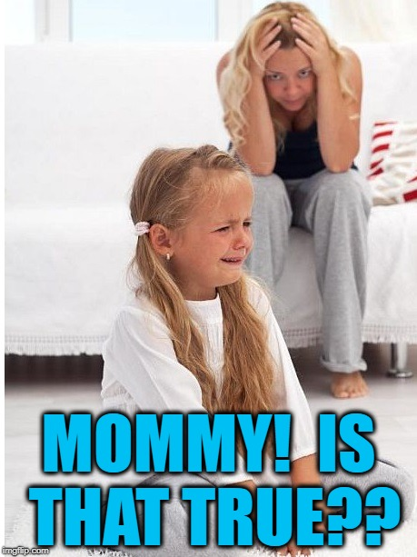 whine | MOMMY!  IS THAT TRUE?? | image tagged in whine | made w/ Imgflip meme maker