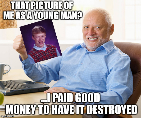 "When your past comes back to haunt you, Harold ""Brian"" Payne. 