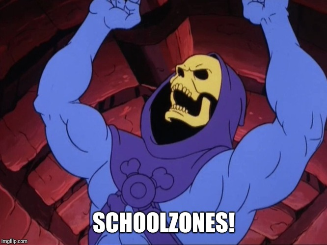 Skeletor | SCHOOLZONES! | image tagged in skeletor | made w/ Imgflip meme maker