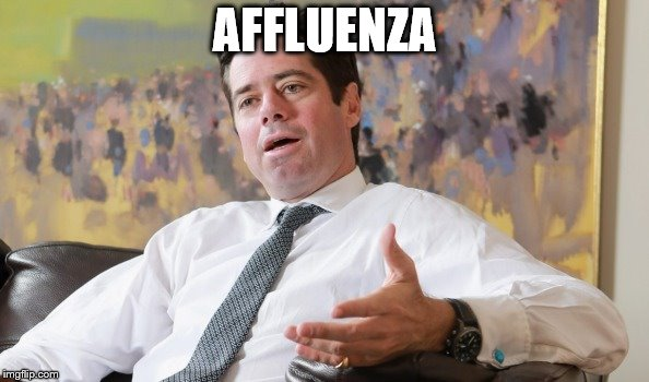 AFFLUENZA | image tagged in afl,dutton,gillon | made w/ Imgflip meme maker