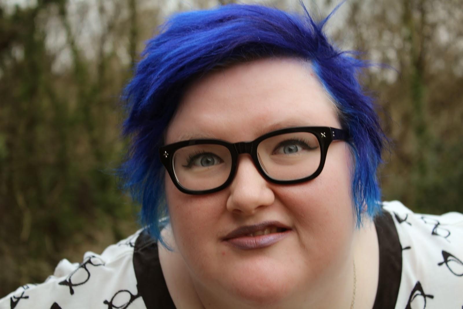 Толстая с розовыми волосами #12
