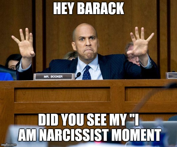 "HEY BARACK DID YOU SEE MY ""I AM NARCISSIST MOMENT 