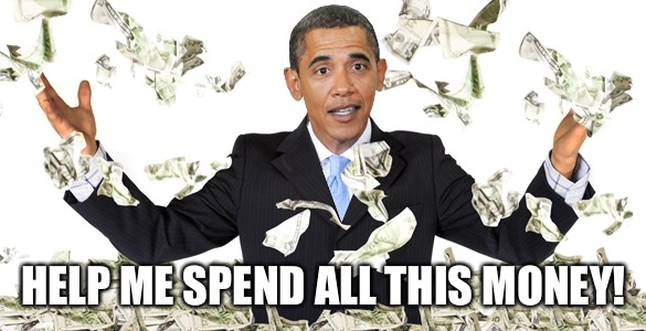 HELP ME SPEND ALL THIS MONEY! | image tagged in memes,thanks obama | made w/ Imgflip meme maker