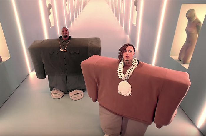 lil pump and kanye west Meme Template
