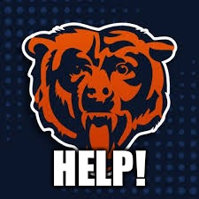 Chicago Bears help | HELP! | image tagged in help,chicago bears | made w/ Imgflip meme maker