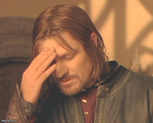Frustrated Boromir Meme | . | image tagged in memes,frustrated boromir | made w/ Imgflip meme maker