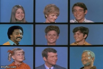 Branford Bunch | image tagged in 70's,mashup,the brady bunch,sanford and son | made w/ Imgflip meme maker