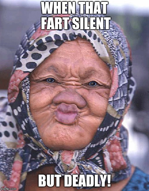 WHEN THAT FART SILENT BUT DEADLY! | image tagged in memes,too funny,so true memes | made w/ Imgflip meme maker