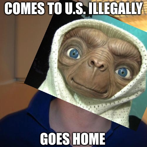 Good Guy Emiliano Tolentino | COMES TO U.S. ILLEGALLY GOES HOME | image tagged in memes,emiliano tolentino | made w/ Imgflip meme maker