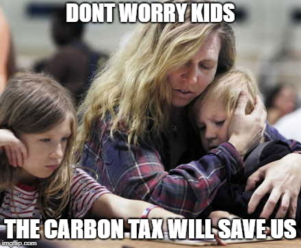 Best laid taxes. | DONT WORRY KIDS THE CARBON TAX WILL SAVE US | image tagged in stupid liberals,liberalism,carbon footprint,environment,meanwhile in canada | made w/ Imgflip meme maker