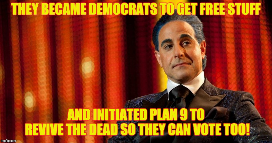 "Hunger Games - Caesar Flickerman (Stanley Tucci) ""Oh?"" 