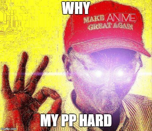WHY MY PP HARD | image tagged in whoch | made w/ Imgflip meme maker