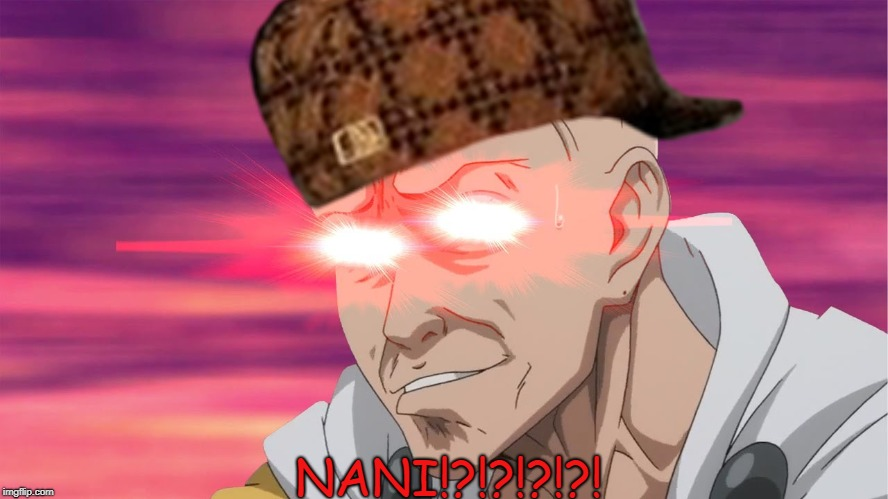 When I see the growth of my account | NANI!?!?!?!?! | image tagged in nani,comic sans,one punch,growth | made w/ Imgflip meme maker