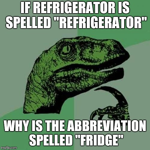 "Who Put the ""D"" In? 