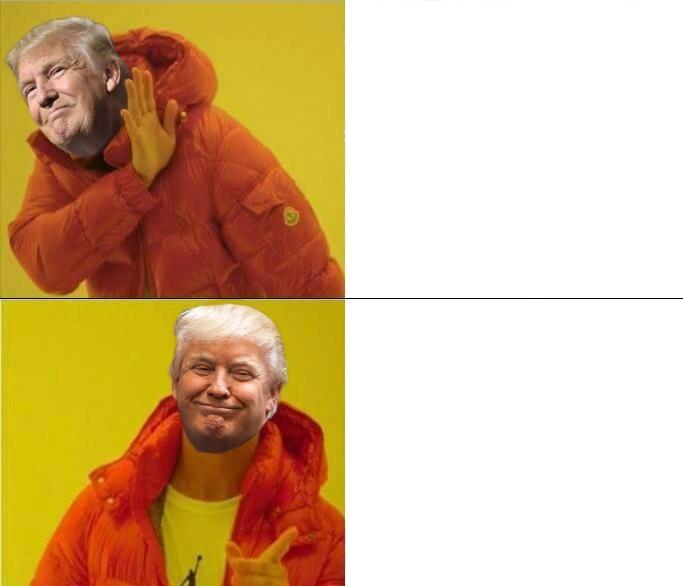 Donald Trump Drake Meme