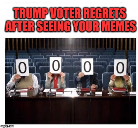 TRUMP VOTER REGRETS AFTER SEEING YOUR MEMES | image tagged in donald trump,triggered liberal,mental illness,maga | made w/ Imgflip meme maker