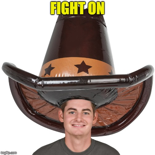 FIGHT ON | made w/ Imgflip meme maker