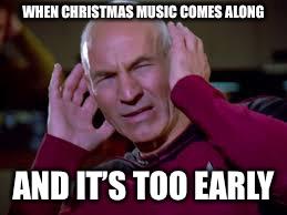 Too Early For Christmas Meme.Blast Dis Christmas Music Imgflip