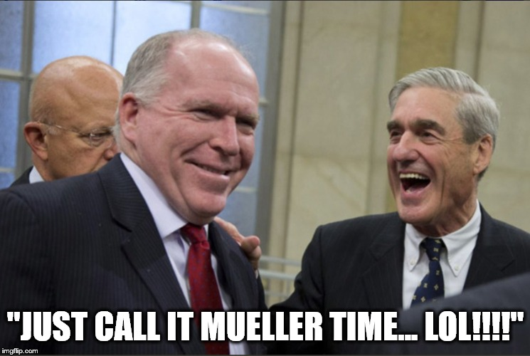 "MUELLER TIME | ""JUST CALL IT MUELLER TIME... LOL!!!!"" 