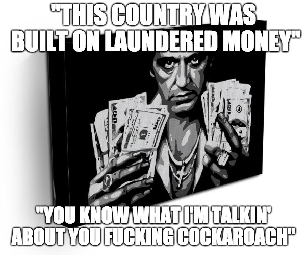 """Don't you dare tell me you're a f**king Frog"" 