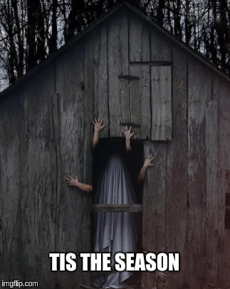 the Halloween season | TIS THE SEASON | image tagged in funny memes,halloween is coming,memes | made w/ Imgflip meme maker