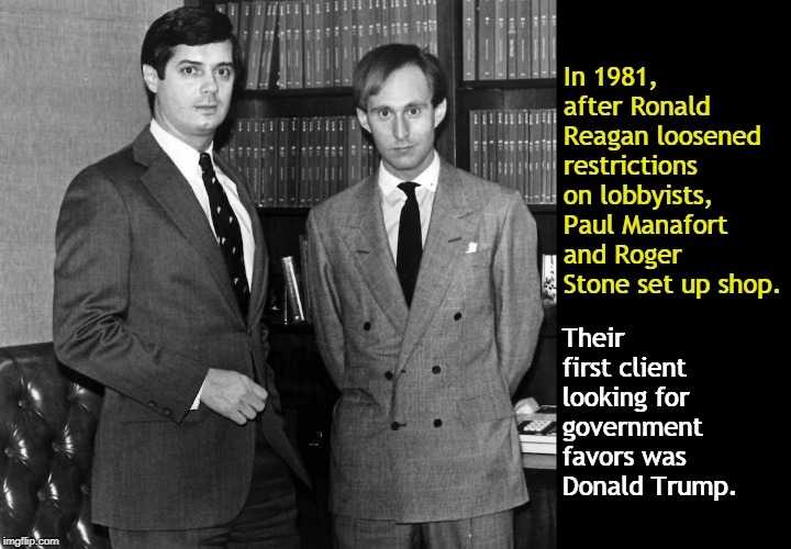Image result for photos of ROGER STONE PAUL MANAFORT TRUMP