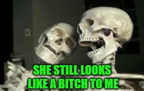 SHE STILL LOOKS LIKE A B**CH TO ME | made w/ Imgflip meme maker
