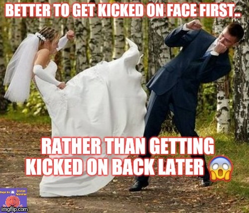 Face it first or get stabbed later | image tagged in cheating,cheaters,cheater,lucky,good,goodfellas laugh | made w/ Imgflip meme maker
