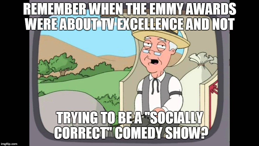 "Hollywood Babylon | REMEMBER WHEN THE EMMY AWARDS WERE ABOUT TV EXCELLENCE AND NOT TRYING TO BE A ''SOCIALLY CORRECT"" COMEDY SHOW? 