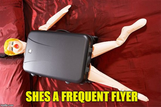 SHES A FREQUENT FLYER | made w/ Imgflip meme maker