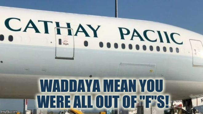 "Can I Get An ""F"" 