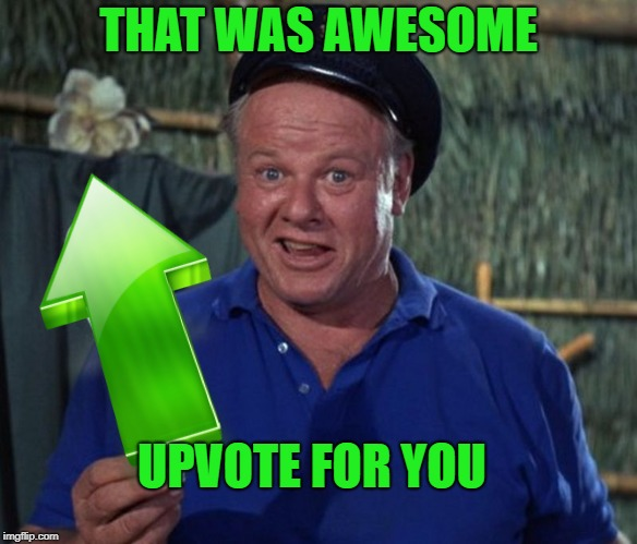 sock | THAT WAS AWESOME UPVOTE FOR YOU | image tagged in sock | made w/ Imgflip meme maker