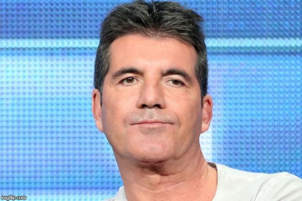 Simon Cowell Unimpressed | . | image tagged in simon cowell unimpressed | made w/ Imgflip meme maker